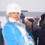 А вот такие Снегурочки в Сибири водятся!