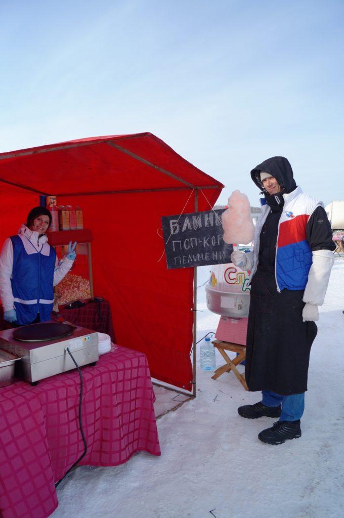 Торговцы сладким щастьем (ну или сахарной ватой)